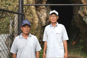 藤本会長(右)・廣田副会長(左)