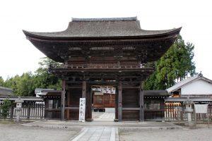小田神社楼門