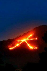 大文字山の送り火