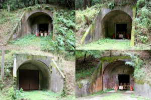 洞窟式第一~四火薬庫