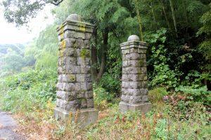 正門(営門)跡