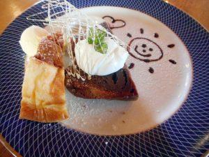 リロンデルさんのケーキセット