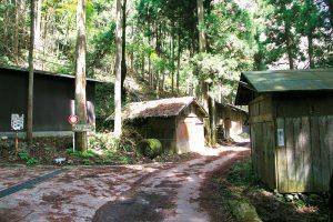 霊仙集落入口