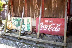 コカコーラホーロー板