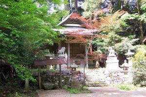 桃原集落(日吉神社)