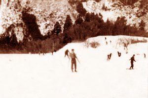 昭和30年代当時の多賀(桃原)スキー場