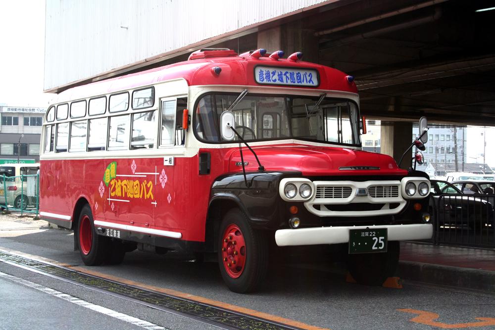 いすゞBXD30(彦根ご城下